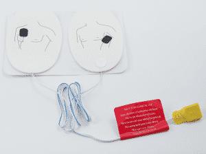 defibrillationselektroden für erwachsene