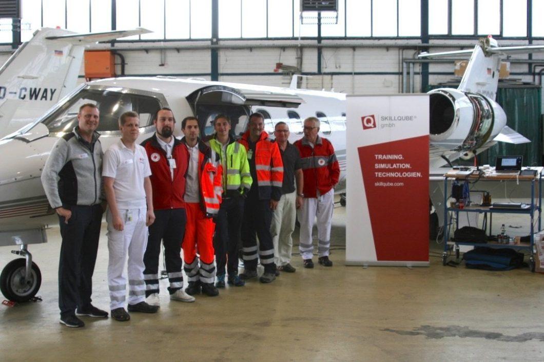 Simulationstraining für mehr Patientensicherheit am Flughafen Köln/Bonn