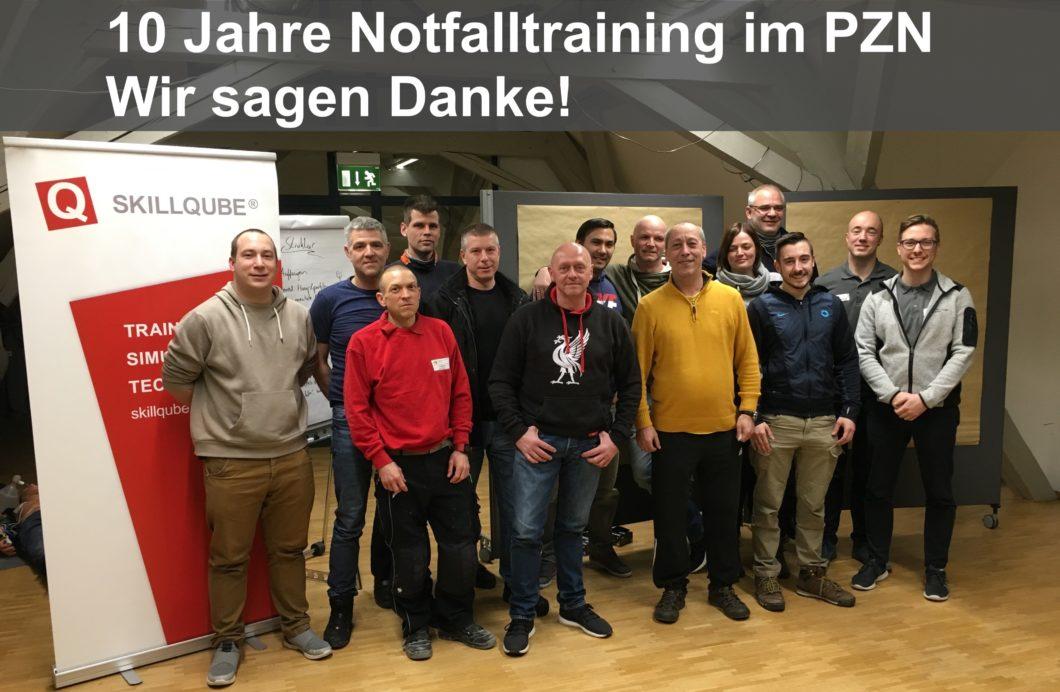 10 Jahre Notfalltraining Psychiatrisches Zentrum Nordbaden (PZN)