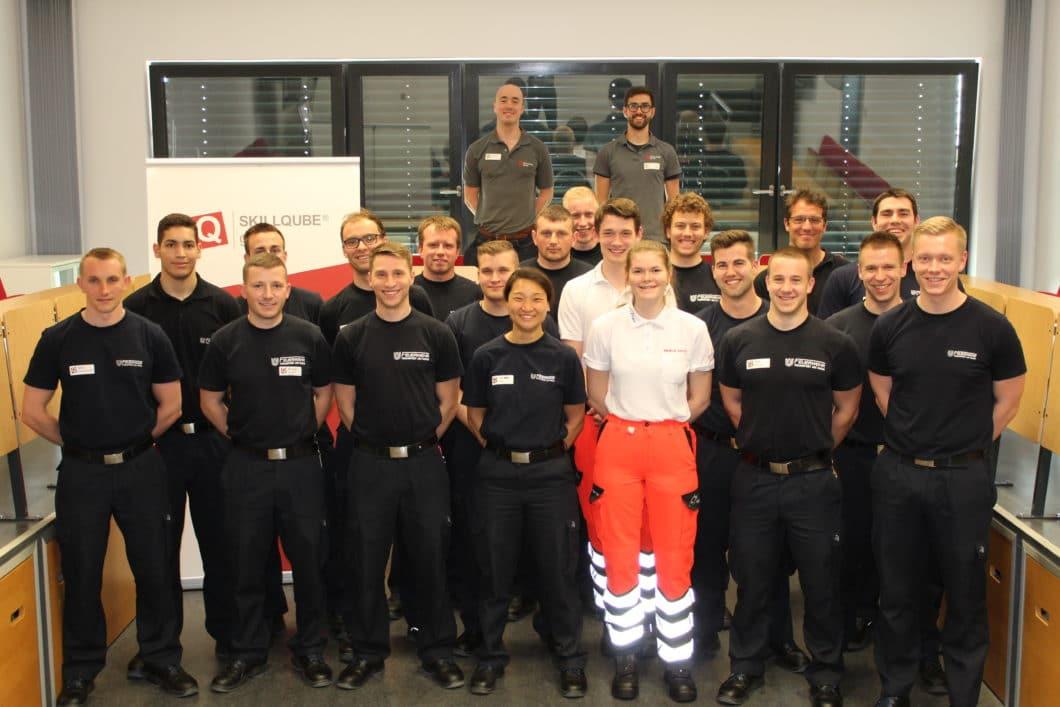 Basic Life Support (BLS) in der Rettungssanitäterausbildung am Frankfurter Institut für Rettungs- und Notfallmedizin