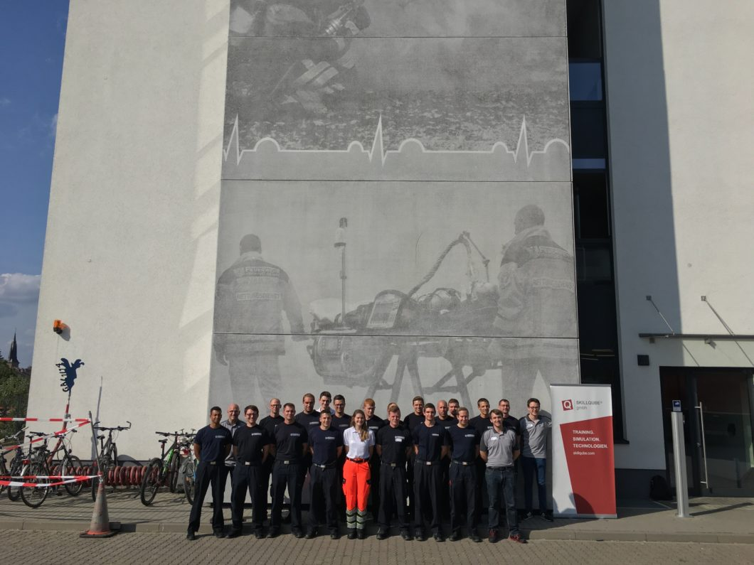 Basic Life Support – Ausbildung an der Berufsfeuerwehr Frankfurt