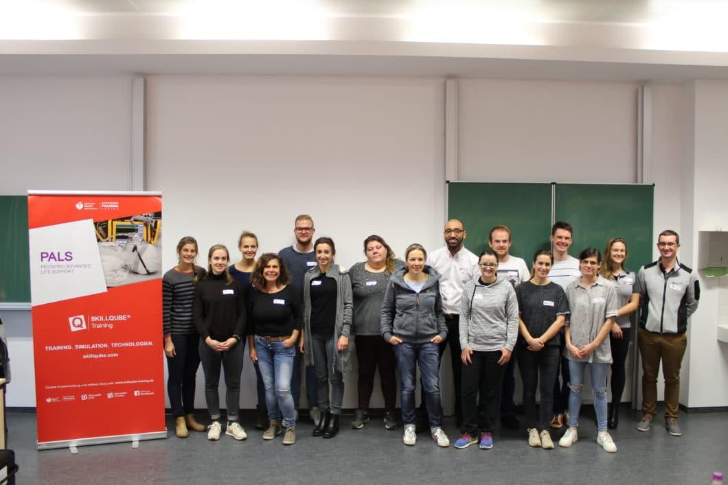 PALS Provider Training (AHA) an der Berufsfeuerwehr Frankfurt