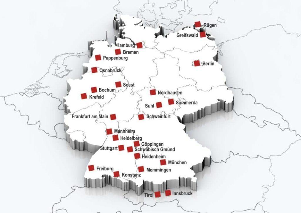 Deutschland Karte ITS