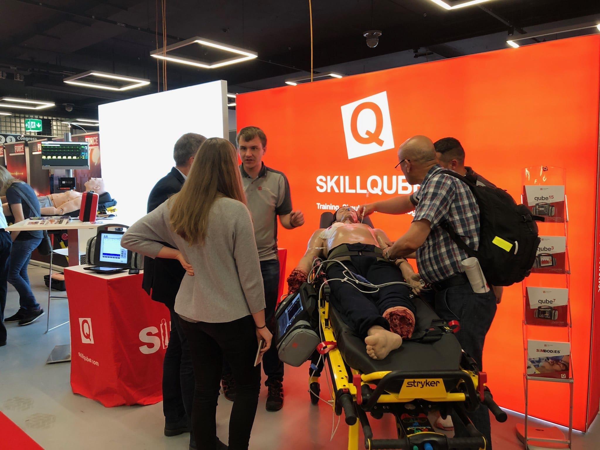 SKILLQUBE auf dem Schweizer Kongress für Notfallmedizin