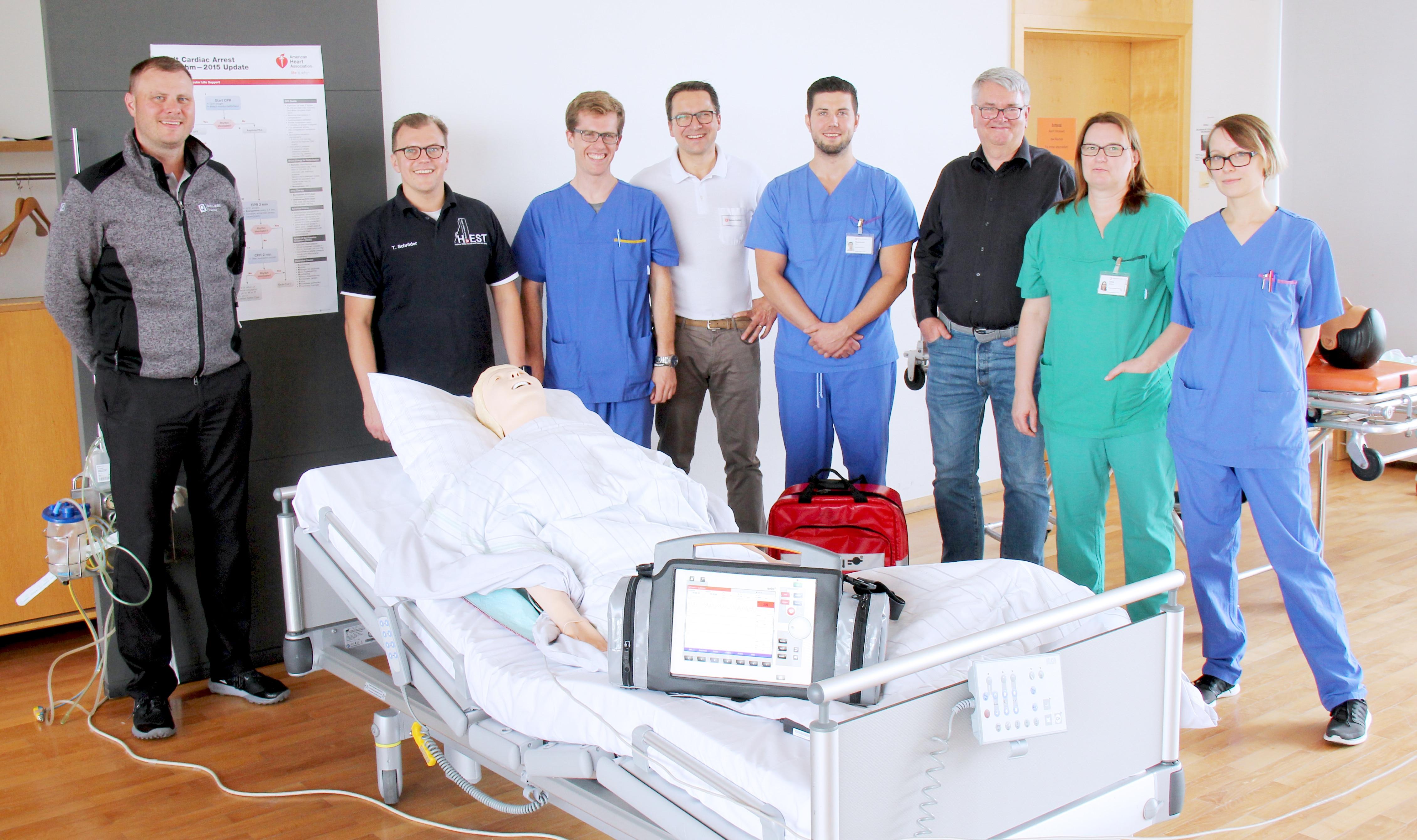 Klinikum Frankfurt Höchst wird neue Training Site von SKILLQUBE