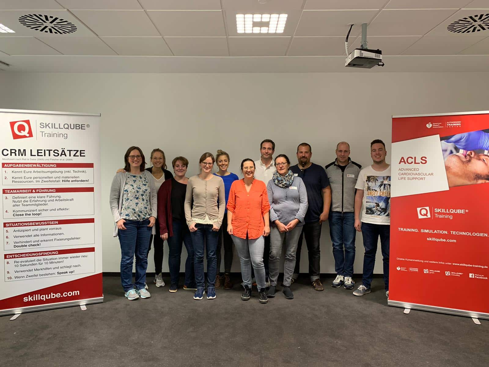 ACLS Provider & Refresher Kurs (AHA) in Bad Krozingen