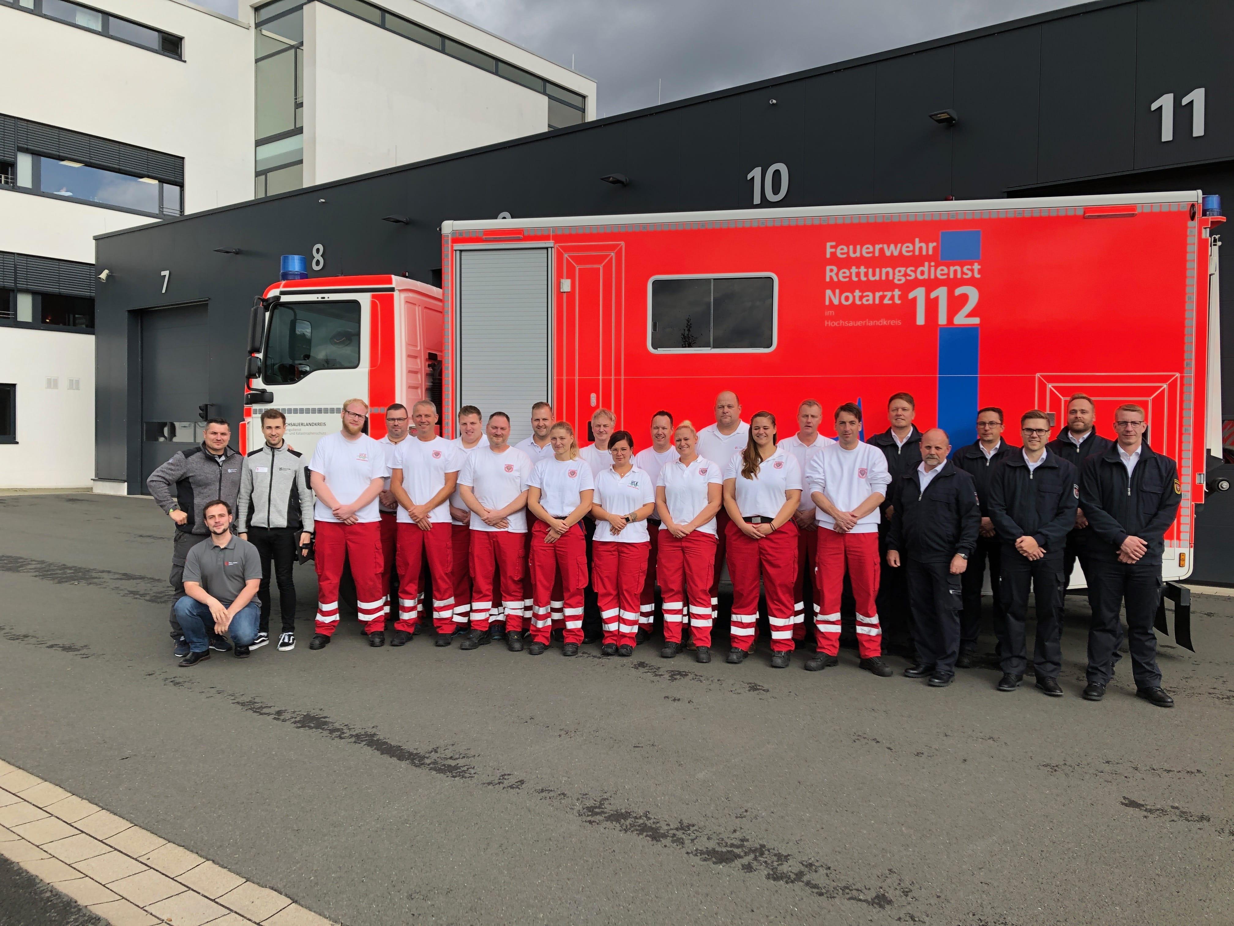 CRM Instruktorenkurs am Zentrum für Feuerschutz und Rettungswesen in Meschede