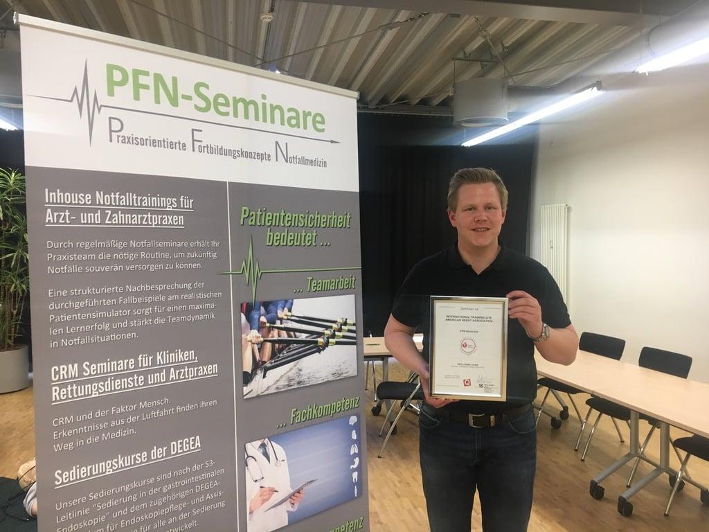 PFN-Seminare wird neue International Trainings Site von SKILLQUBE