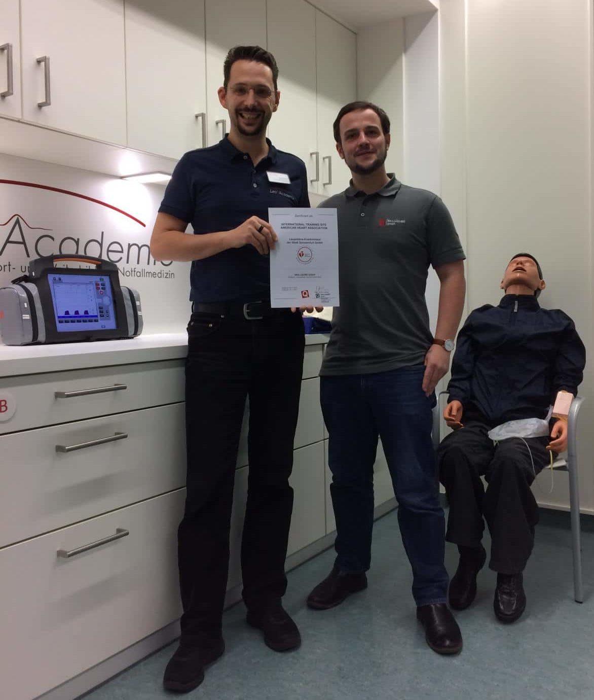 Leo Academie des Leopoldina Krankenhaus erfolgreich re-zertifiziert
