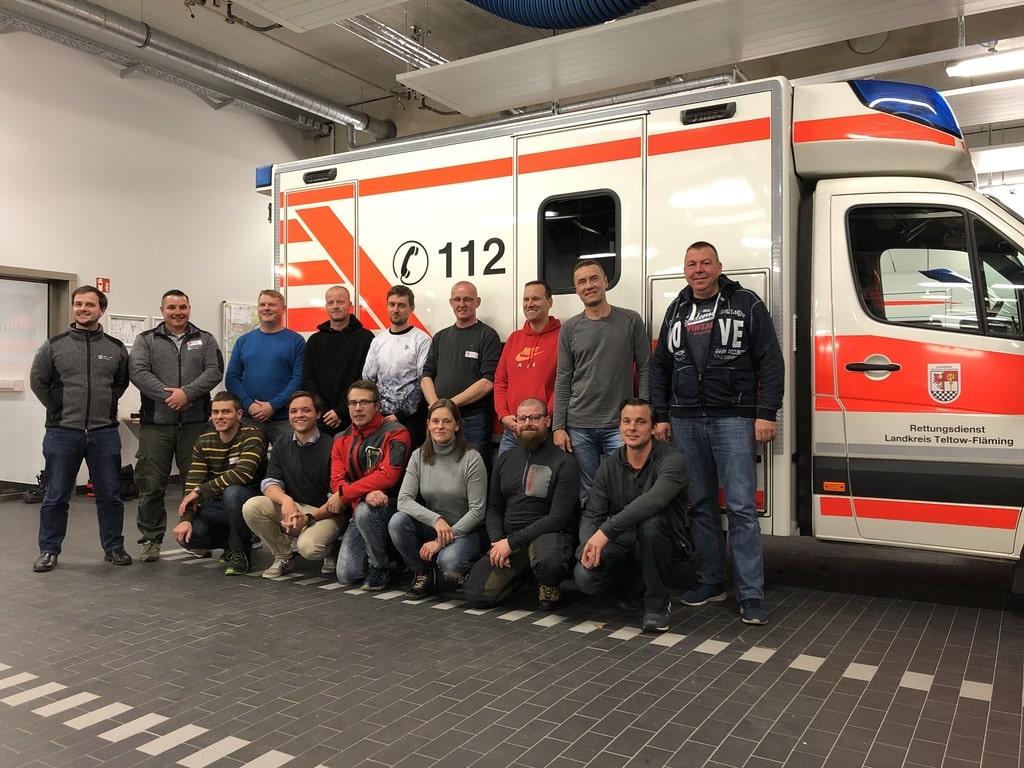 CRM Instruktorenkurs beim Rettungsdienst Teltow-Fläming