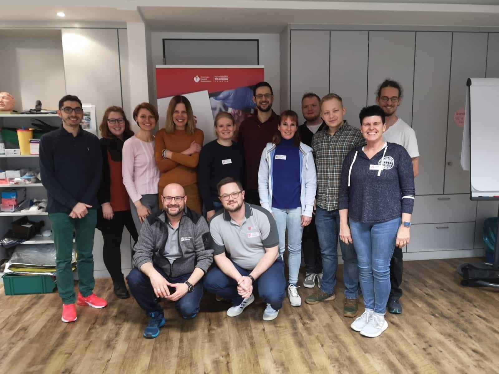 ACLS Provider & Refresher Kurs (AHA) in Frankfurt