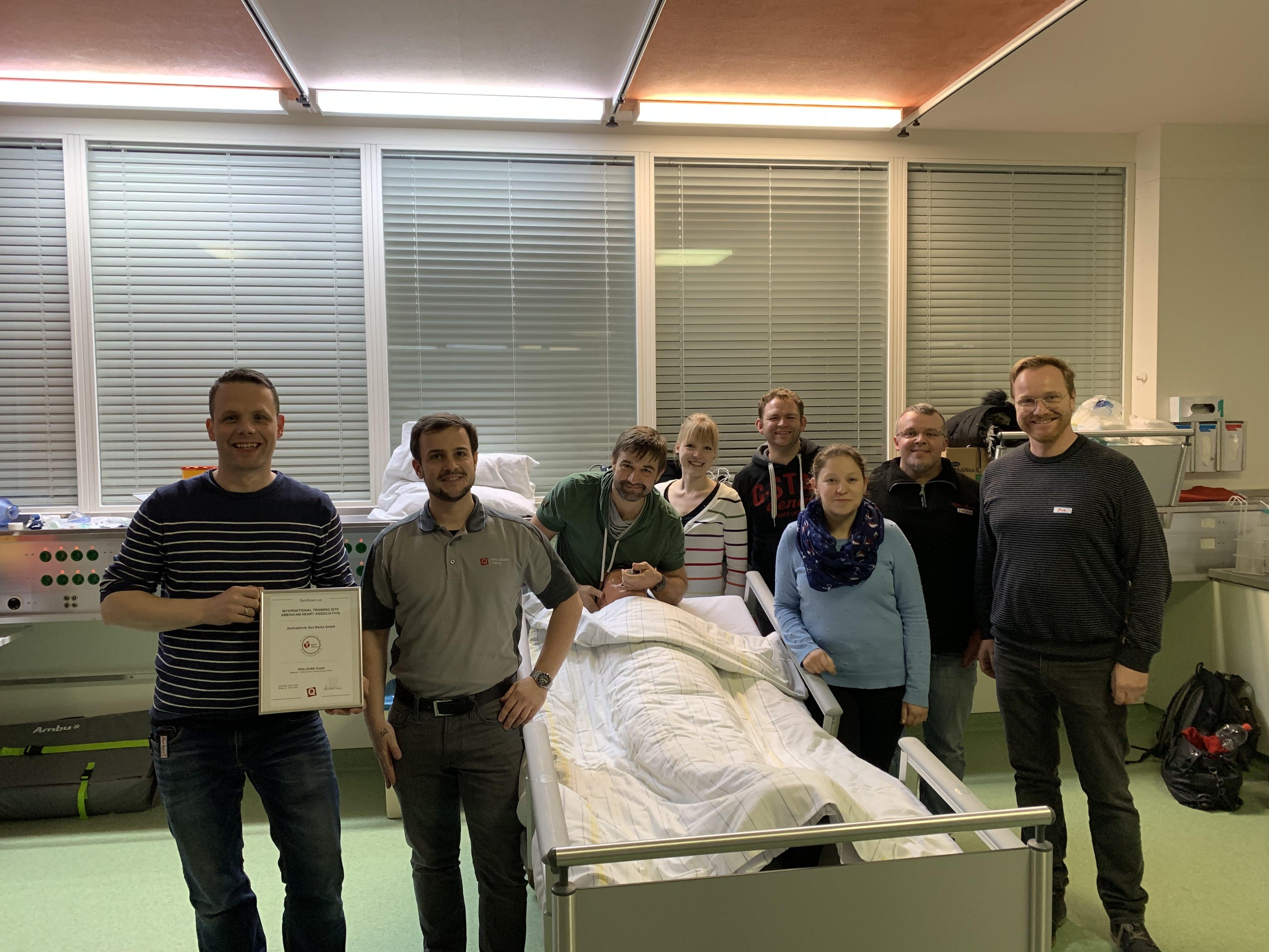 Zentralklinikum Bad Berka wird neue International Training Site (ITS) von SKILLQUBE