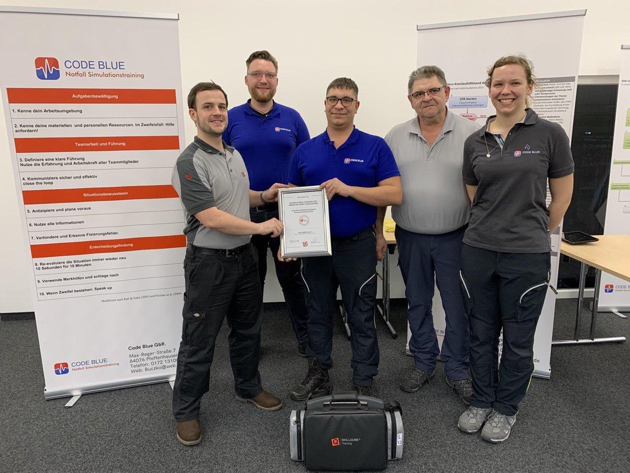 Code Blue wird neue International Trainings Site von SKILLQUBE