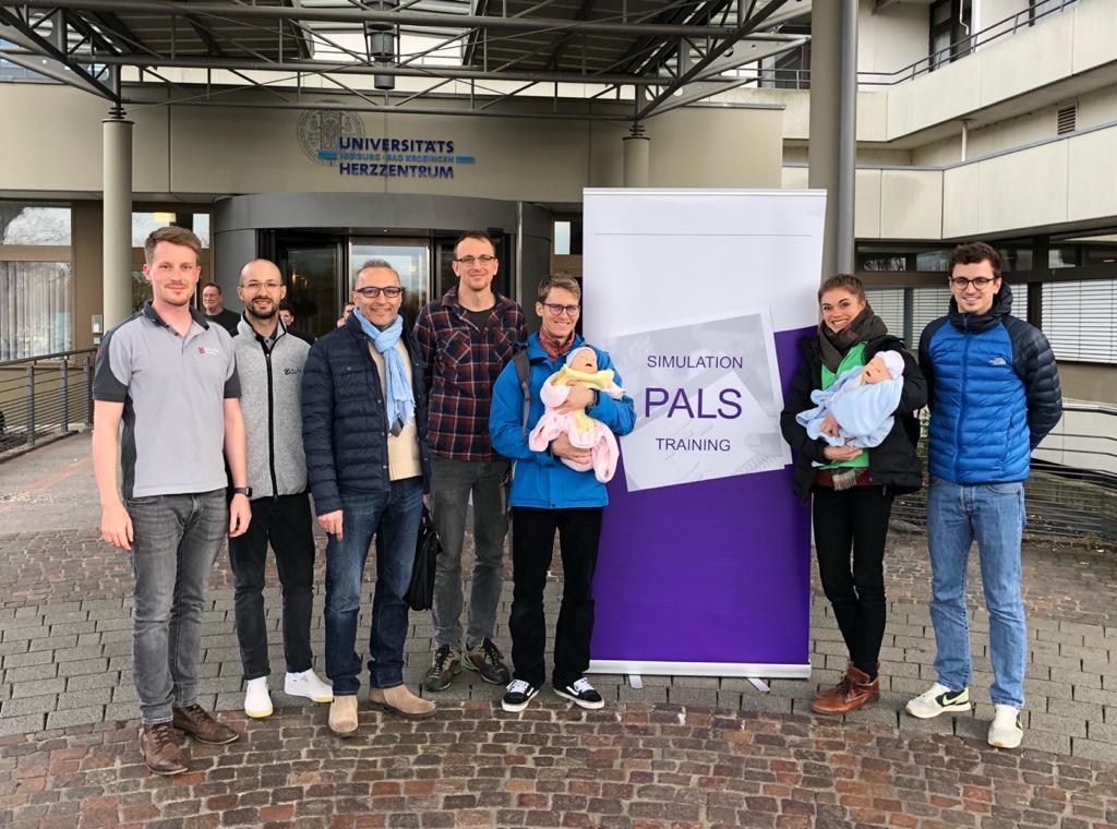 PALS Provider Kurs (AHA) am Universitäts-Herzzenzrum Freiburg