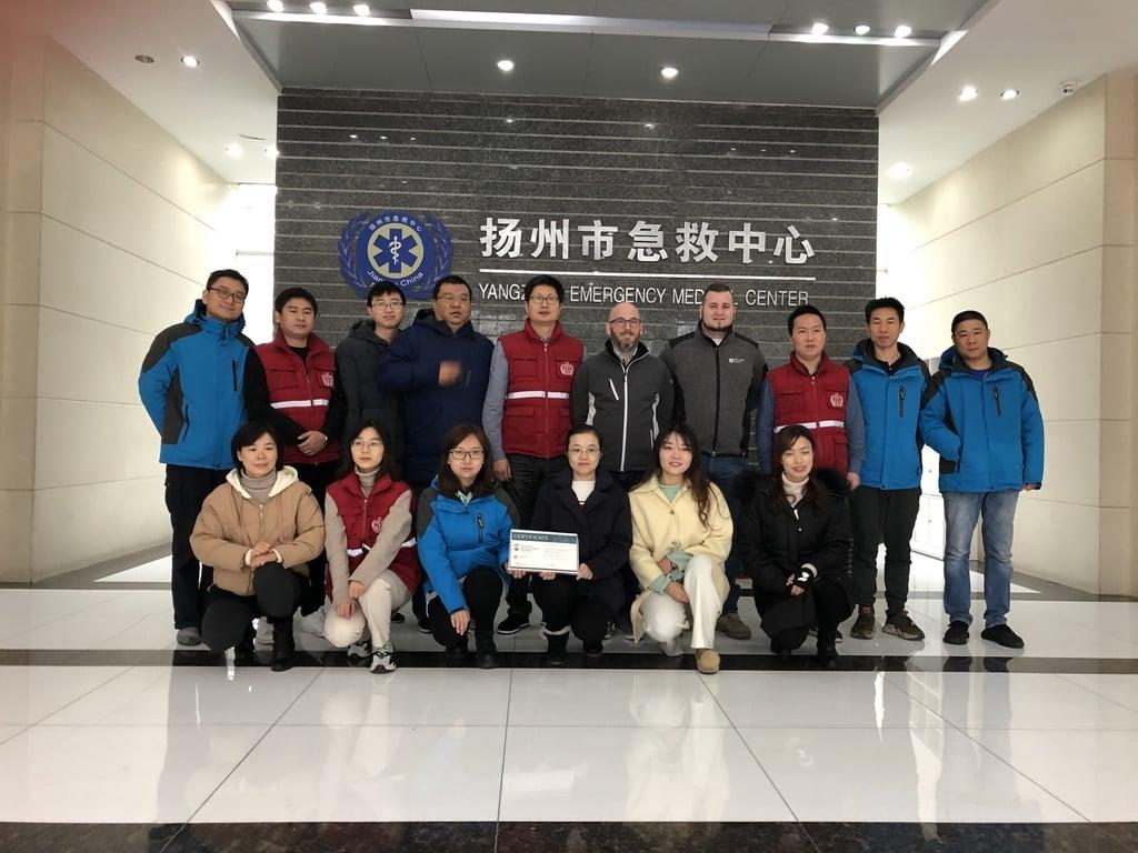 SKILLQUBE reiste zur Public Responder Ausbildung im Januar 2020 nach China