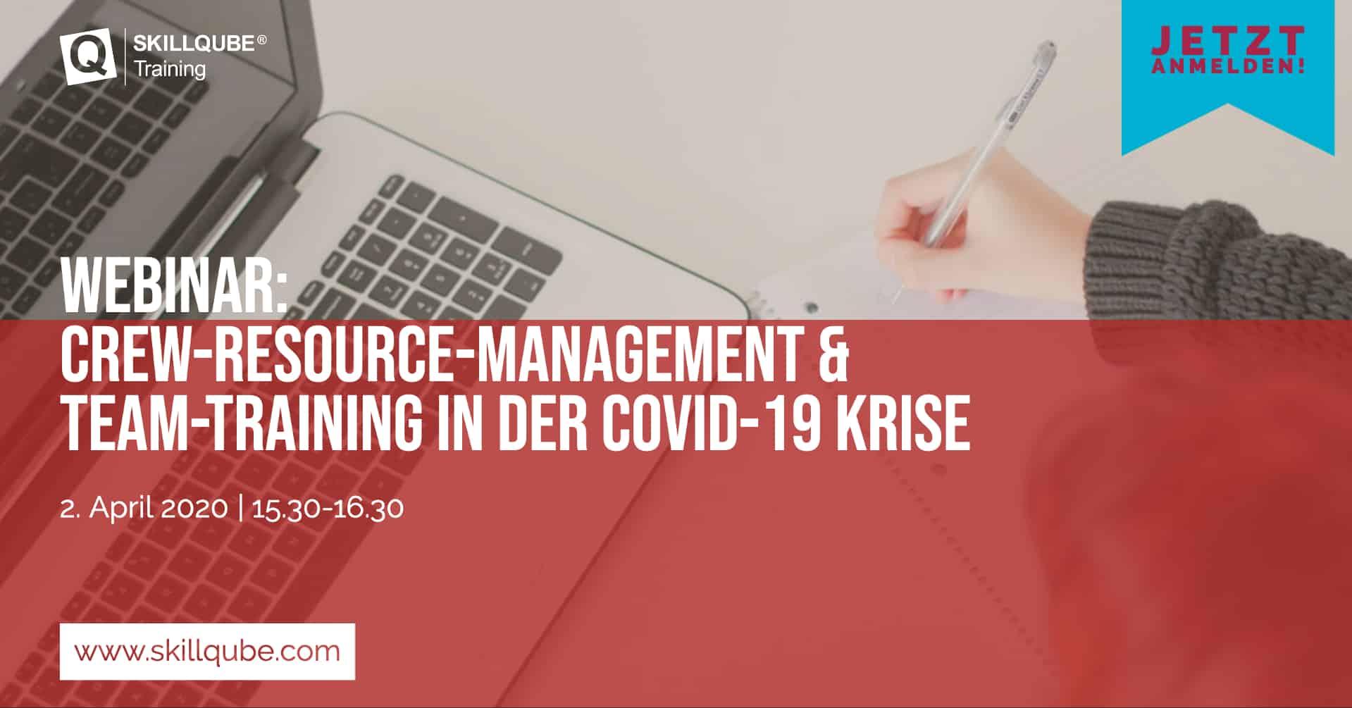 Skillqube bietet Webinar zum Thema CRM & Team-Training in der COVID-19 Krise