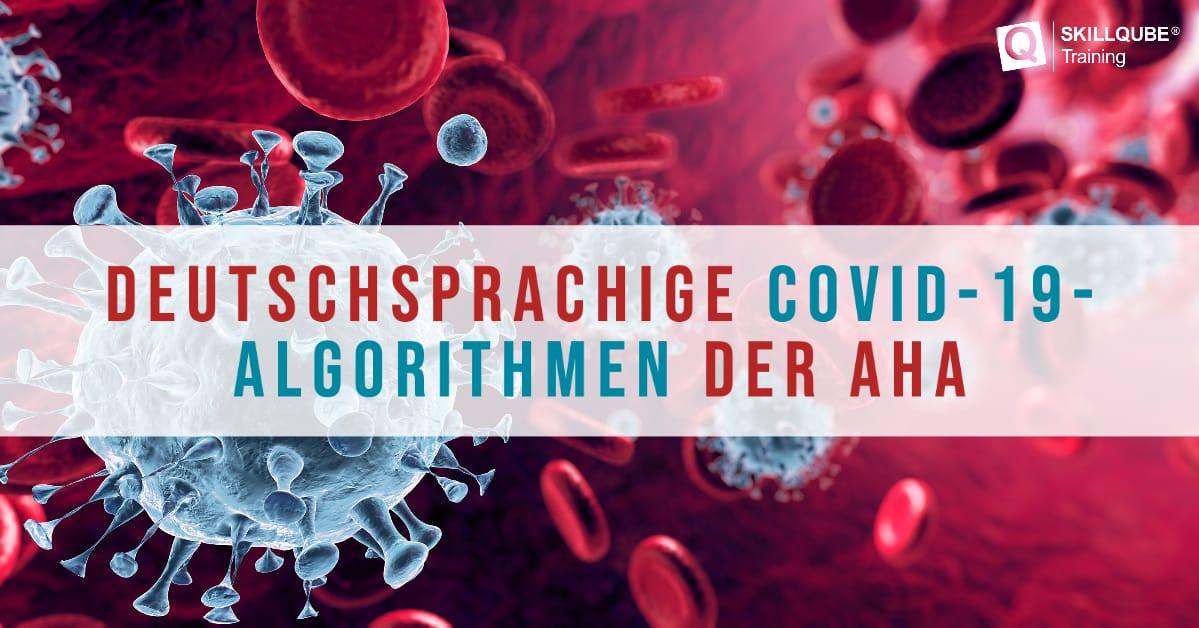 COVID-19-Algorithmen der AHA nun auch auf Deutsch verfügbar