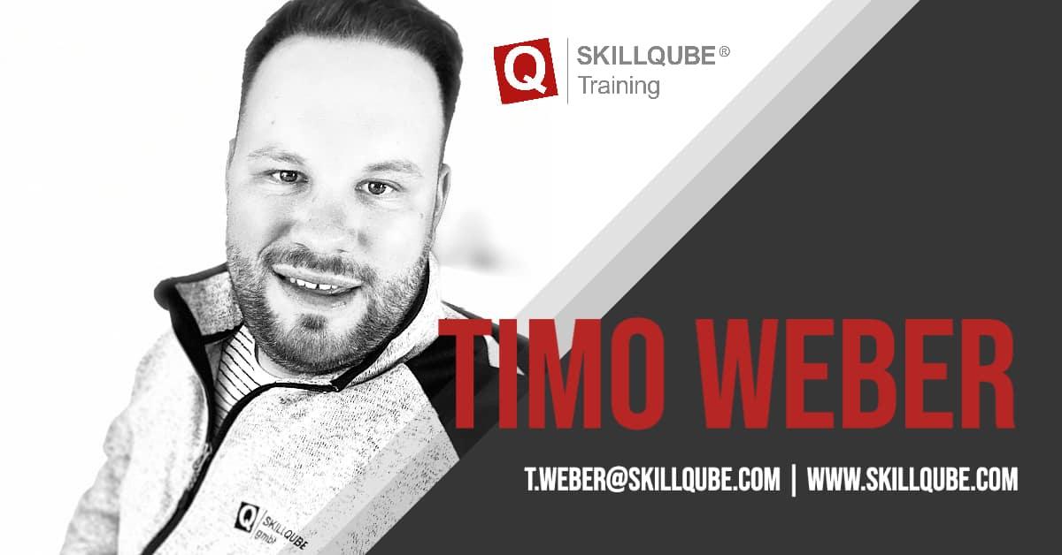Willkommen im Team, Timo!