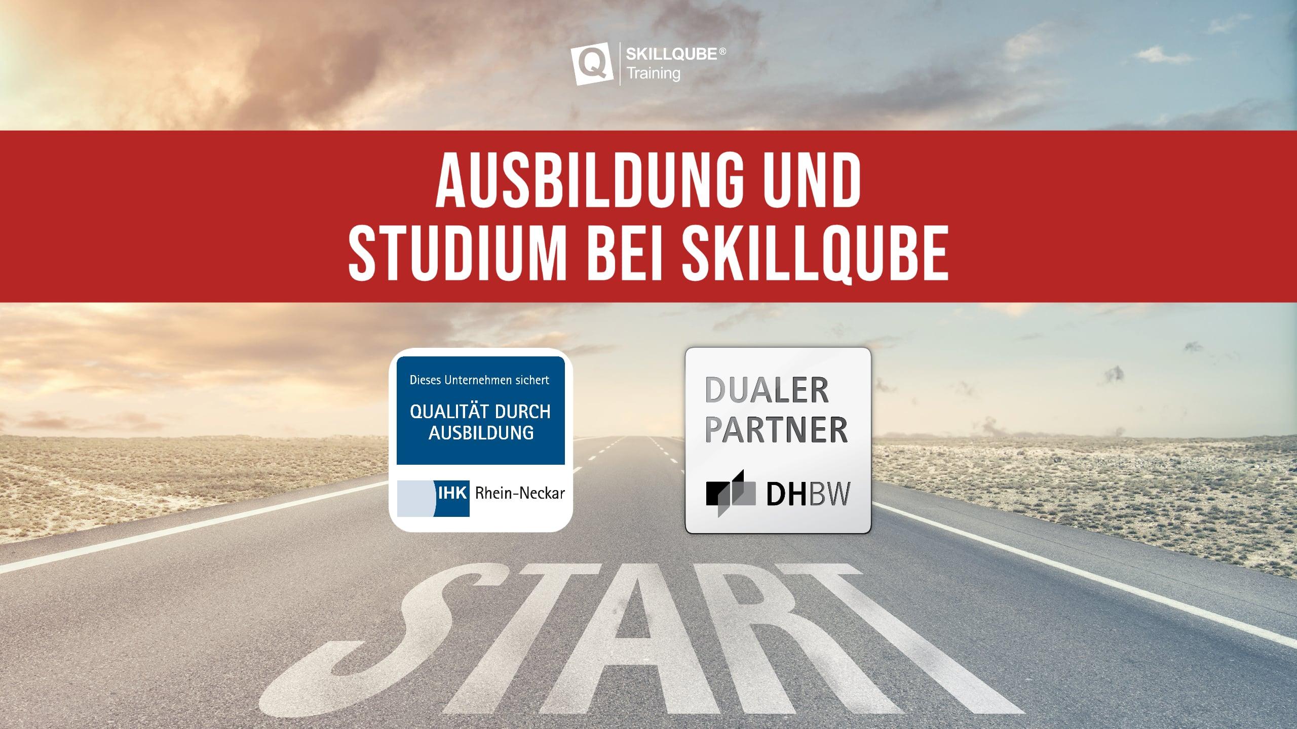 Ausbildung und Studium bei SKILLQUBE