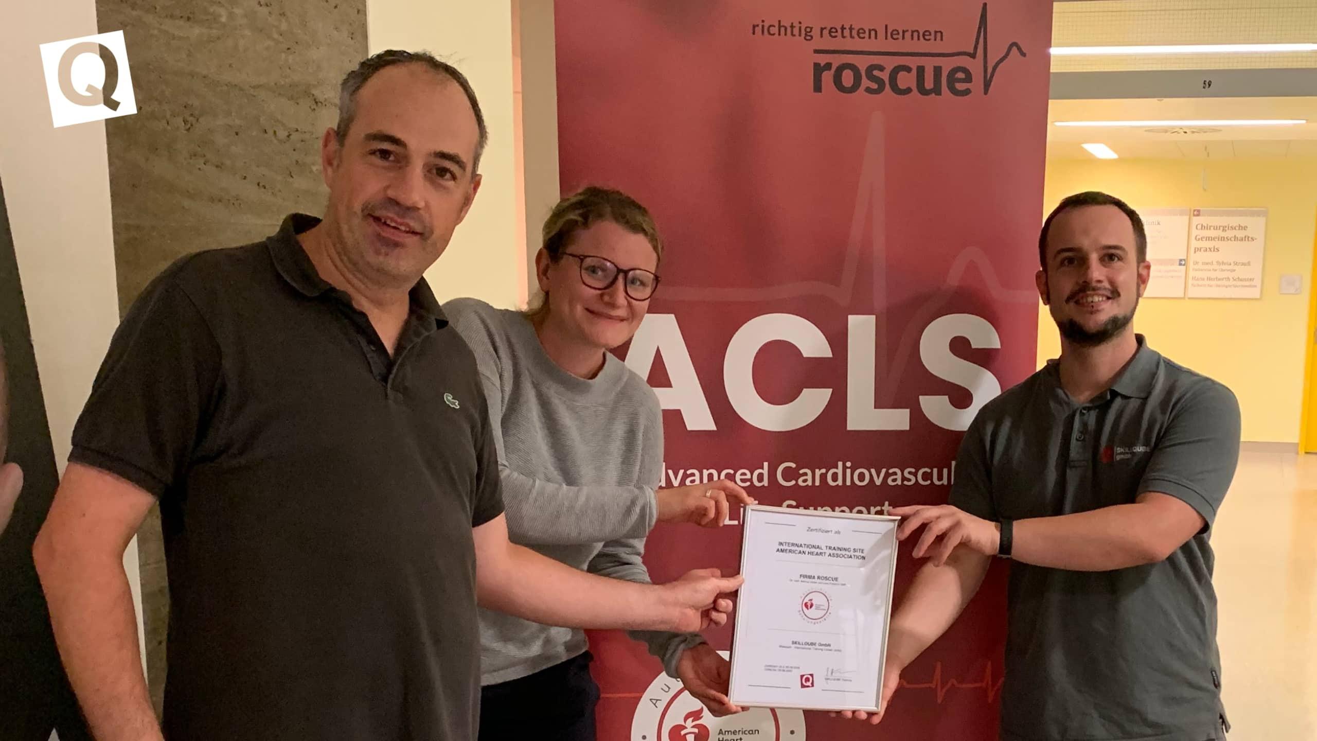 roscue ist neue International Training Site (ITS) von SKILLQUBE