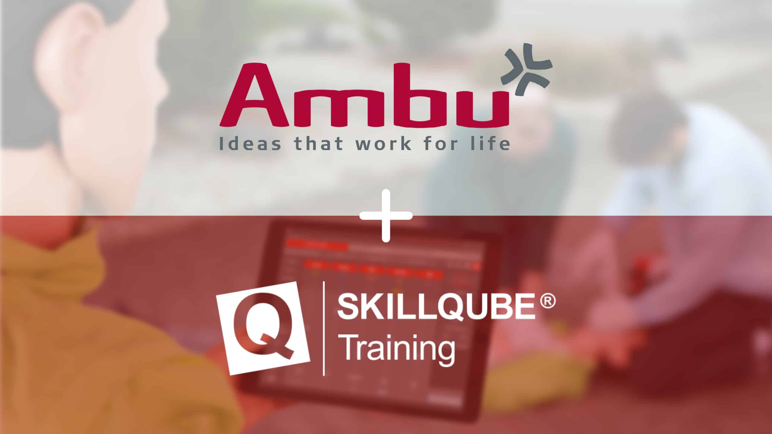 SKILLQUBE in Kooperation mit Ambu