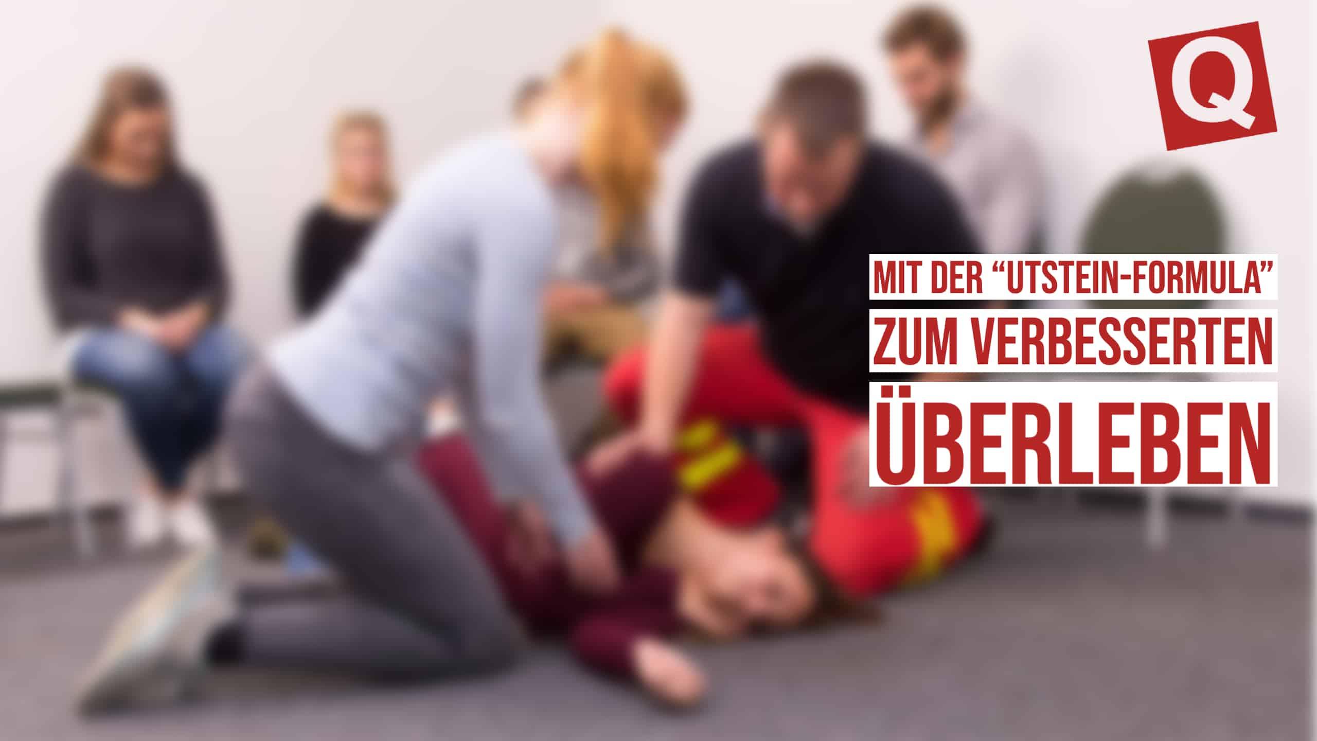"""Mit der """"Utstein-Formula"""" zum verbesserten Überleben"""