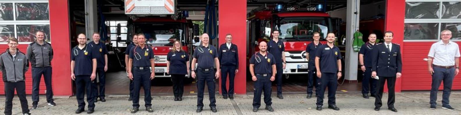 Skillqube Lehrgang bei Feuerwehr Ilvesheim